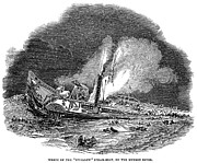 1845 Photos - Steamship Accident, 1845 by Granger