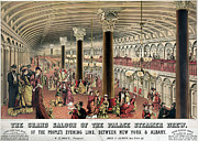 Ballroom Posters - STEAMSHIP: SALOON, c1878 Poster by Granger