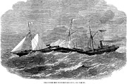 Ironclad Prints - Steamship: Storm, 1863 Print by Granger