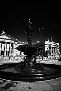 Liverpool Prints - Steble Fountain In William Brown Street Conservation Area Liverpool Merseyside England Uk Print by Joe Fox