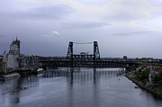 Willamette Framed Prints - Steel Bridge Framed Print by David Bearden