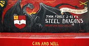 Steel Dragons - Can And Will Print by Unknown