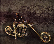 V Twin Prints - Steel Horse Print by Peter Chilelli