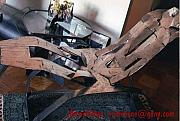 Hand Made Sculptures - Steel Kirigami Style ROCKER by Toma Selli