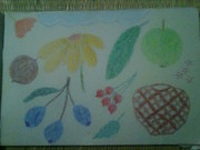 Steel Pastels - Steel Life Flower And Fruits by Bgi Gadgil