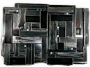 Cool Sculptures - Steel Mosaic by August Johnson