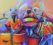 Steel Pan Carnival Print by Cynthia McLean