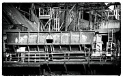 Bethlehem Photo Prints - Steel Work Print by John Rizzuto