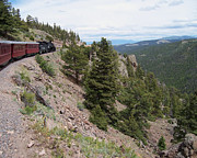 Narrow Gauge Photos - Steep... by Luke Moore