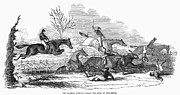 1845 Photos - Steeplechase, 1845 by Granger