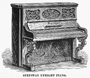 1878 Photos - Steinway Piano, 1878 by Granger