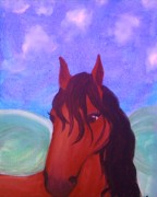 Stable Painting Originals - Stella by Charles  Jennison