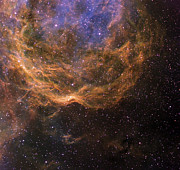 Dust Clouds Art - Stellar Winds Around Wolf-rayet Star 23 by Don Goldman
