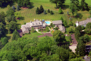 Residential Real Estate Aerial Photographs - Stenton Avenue Montgomery County Pennsylvania by Duncan Pearson