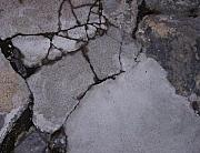 Step On A Crack 3 Print by Anna Villarreal Garbis