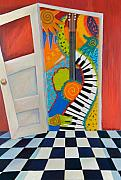 Anne Nye Acrylic Prints - Step Out Into The Music Acrylic Print by Anne Nye