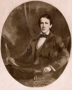 1850s Prints - Stephen Foster 1826-1864, The Father Print by Everett