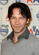 The Hills Framed Prints - Stephen Moyer At Arrivals For The 2009 Framed Print by Everett
