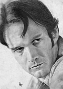 Parchment Drawings Prints - Stephen Moyer Print by Bianca Ferrando