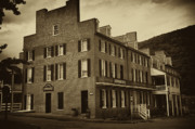 Harpers Ferry Prints - Stephensons Hotel - Harpers Ferry  West Virginia Print by Bill Cannon