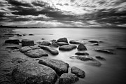Long Island Photographs Posters - Stepping Stones IV Poster by Rick Berk