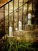 Peter Daltrey Art - Steps and Lanterns by Peter Daltrey