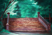 Steps Painting Originals - Steps by Chandar Joshi
