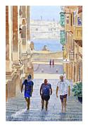 Steps Print by Godwin Cassar