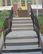 Serenity Prayer Paintings - Steps to Recovery by Lisa Urankar
