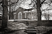 Church Photos Prints - Steps To The Church Print by Kathy Jennings