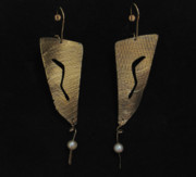 Dangles Jewelry - Sterling silver patina by Deborah Haste