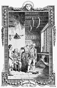Sterne Prints - STERNE: TRISTRAM SHANDY. Engraving for the 1781 edition of Laurence Sternes novel Print by Granger