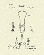 Patent Art Prints - Stethoscope 1882 Patent Art Print by Prior Art Design