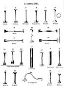 Caustic Posters - Stethoscopes, 1869 Poster by Science Source