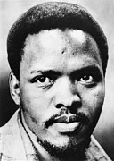 Activist Prints - Steve Biko, South African Leader Print by Everett