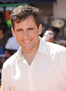 Premiere Metal Prints - Steve Carell At Arrivals For Premiere Metal Print by Everett