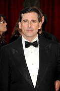 Red Carpet Photo Framed Prints - Steve Carell At Arrivals For Red Carpet Framed Print by Everett