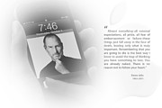 Black And Whites - Steve Jobs 3 by Anthony Rego