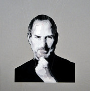 Michael Sculpture Originals - Steve Jobs expanded by Michael  Murphy