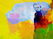 Art Film Paintings - Steve McQueen by Irina  March