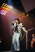 Rich Fuscia Posters - Steve Perry of Journey Poster by Rich Fuscia