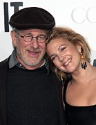 Whip It Premiere Prints - Steven Spielberg, Drew Barrymore Print by Everett