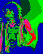 Aerosmith Art - Steven Tyler in Spokane 1D by Ben Upham