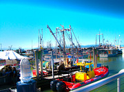 Imac Framed Prints - Steveston Harbour Framed Print by Stephen Lawrence Mitchell