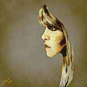 Van Goghs Ear Posters - Stevie Nicks Poster by Arne Hansen