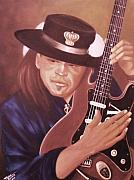 Helen Originals - Stevie Ray Vaughan by Helen Thomas