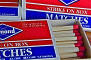 Stick Matches Print by Bill Owen