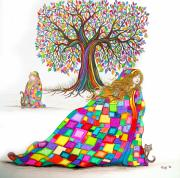 Quilts Digital Art - Still Dreaming by Nick Gustafson