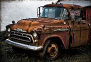 Rusty Truck Prints - Still Going Print by Bill Cannon