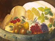 Winery Paintings - Still Life - Classical Banquet by Paul Galante